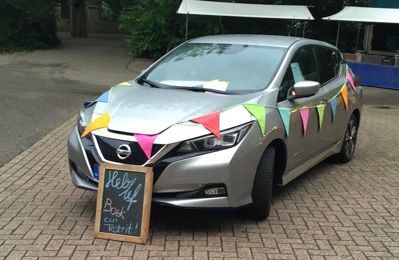 Elektrische deelauto markt Wassenaar