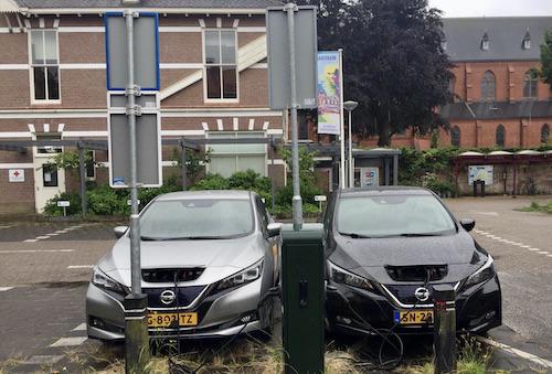 2e e-deelauto in Wassenaar